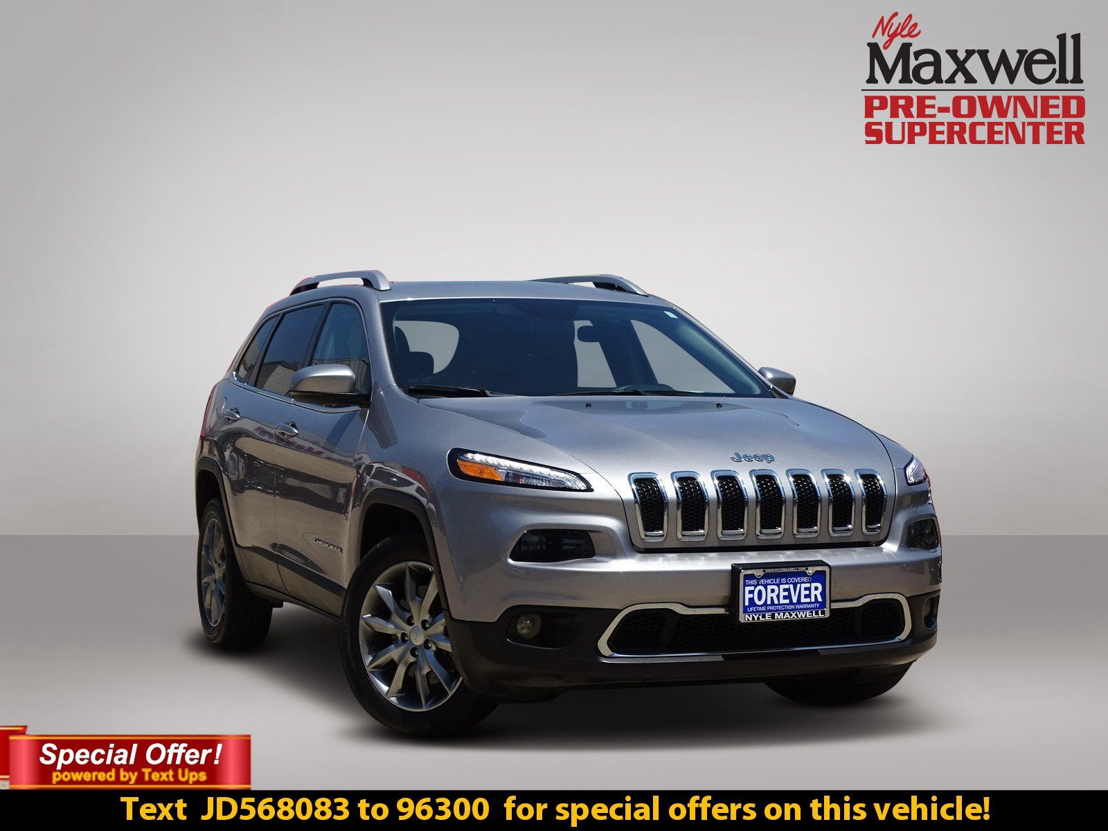Certified Pre Owned 2018 Jeep Cherokee Limited Sport Utility in