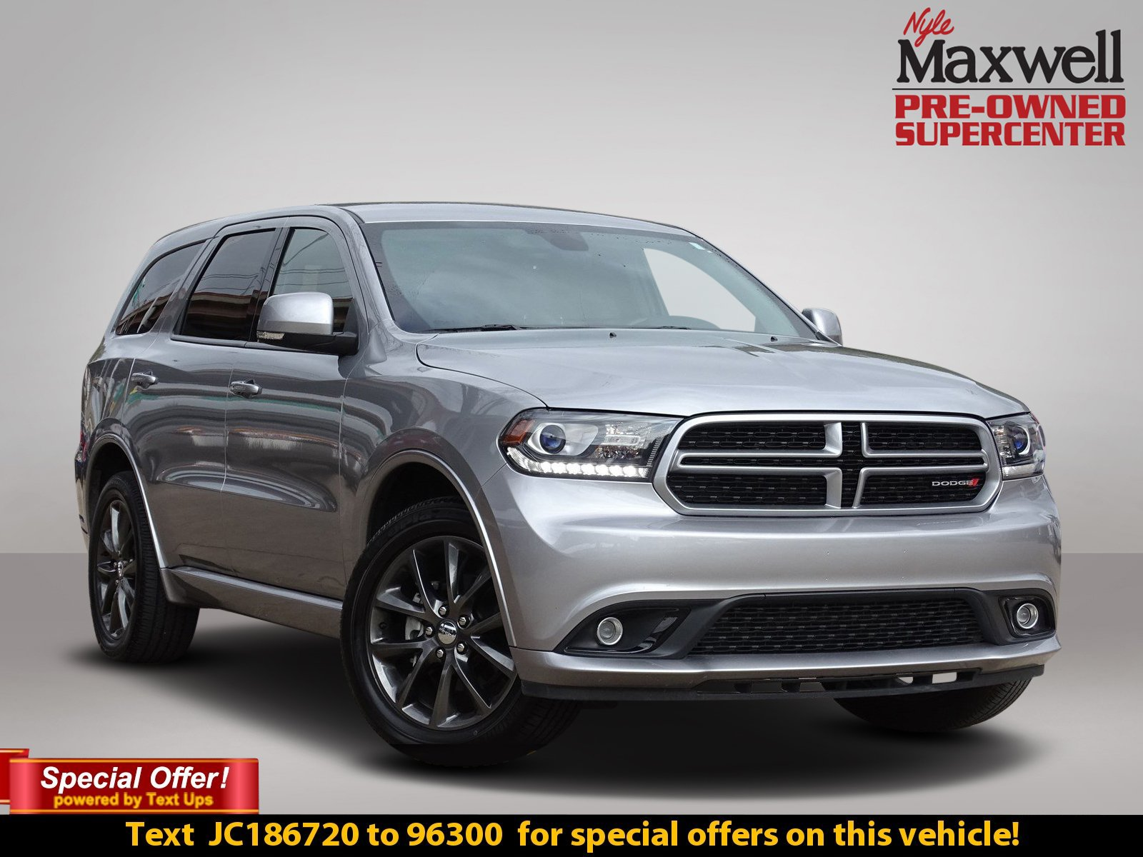 Certified Pre Owned 2018 Dodge Durango Gt Sport Utility In Austin
