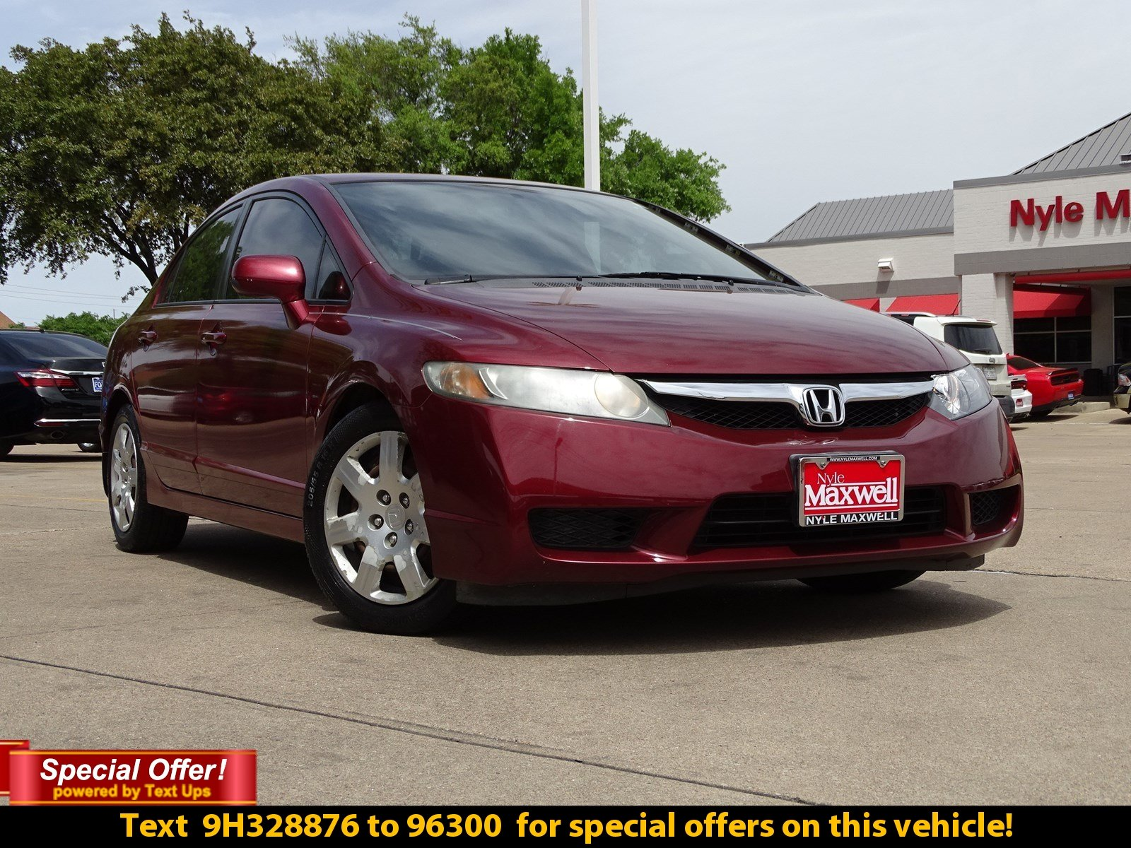 Https Www Fiatusaofaustin Inventory Used 2009 Honda Civic Sdn Lx Fwd 4dr Car 2hgfa16519h328876
