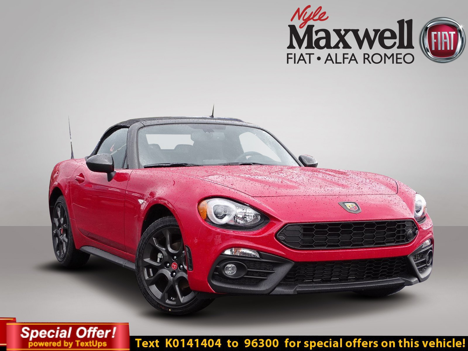 New 2019 Fiat 124 Spider Abarth Convertible In Austin K0141404