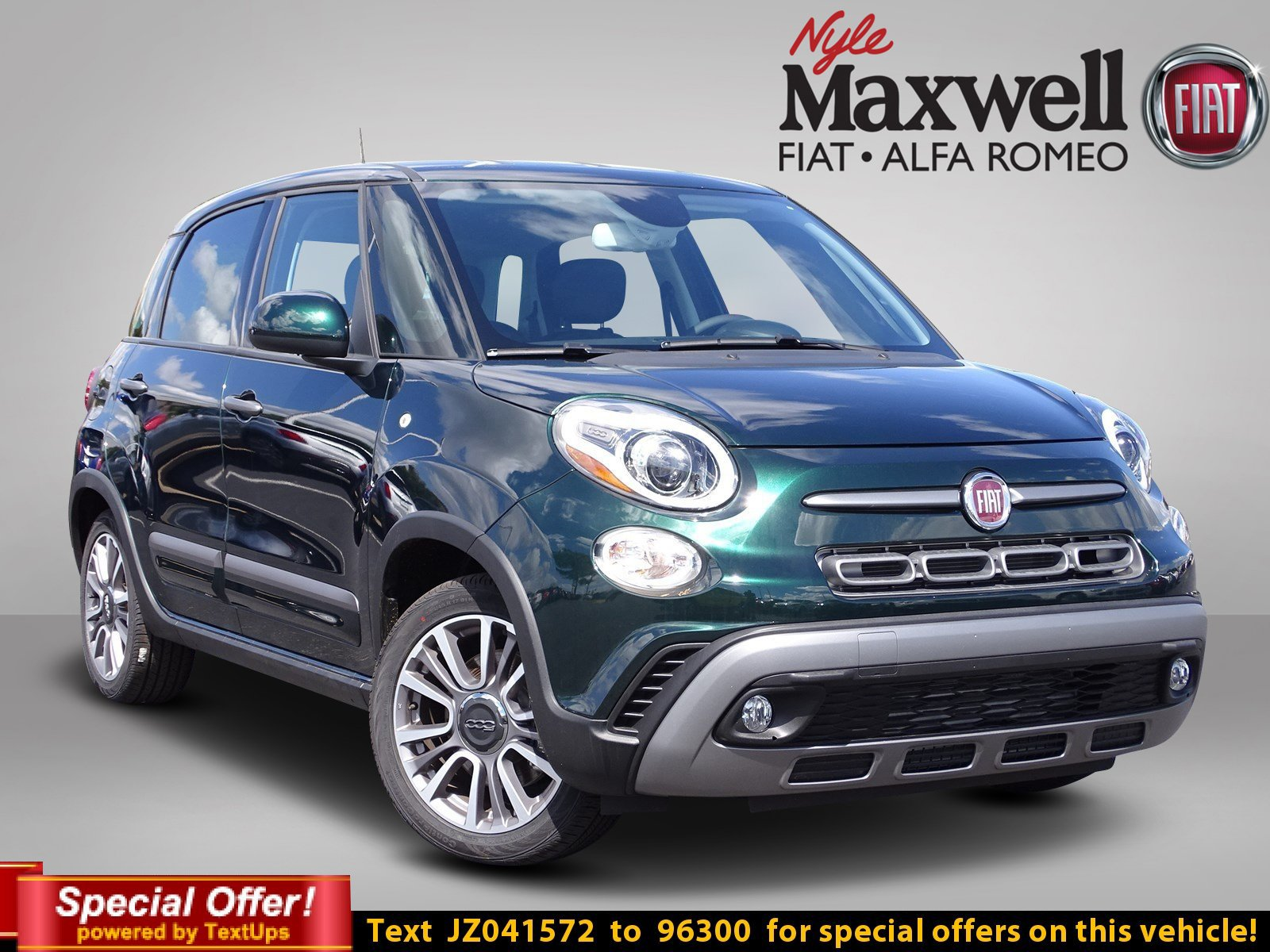 new 2018 fiat 500l trekking hatchback in austin jz041572. Black Bedroom Furniture Sets. Home Design Ideas