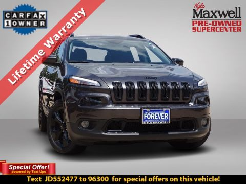 DEALER CERTIFIED 2018 Jeep Cherokee LATI