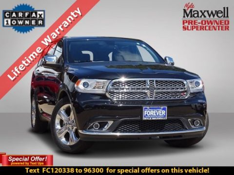 DEALER CERTIFIED 2015 Dodge Durango SXT