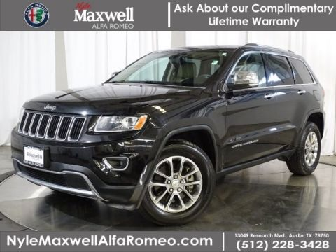 DEALER CERTIFIED 2014 Jeep Grand Cherokee Limited