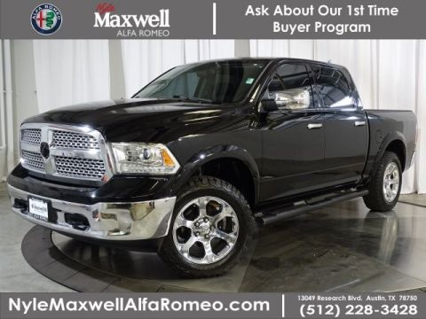 Pre-Owned 2013 Ram 1500 Laramie With Navigation & 4WD