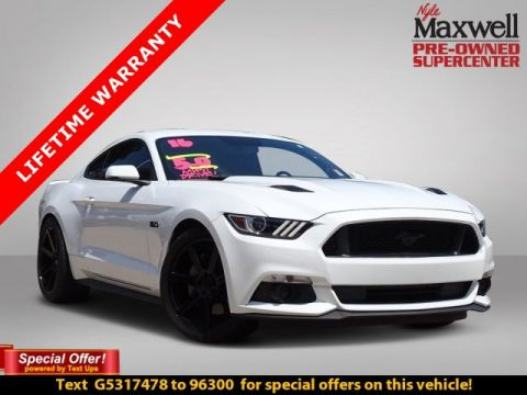 DEALER CERTIFIED 2016 Ford Mustang GT