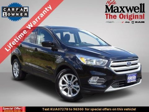 DEALER CERTIFIED 2019 Ford Escape SE