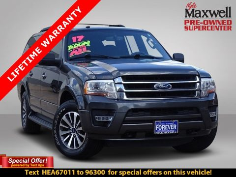 DEALER CERTIFIED 2017 Ford Expedition EL XLT