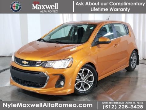 DEALER CERTIFIED 2017 Chevrolet Sonic LT