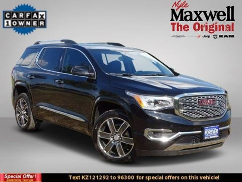 DEALER CERTIFIED 2019 GMC Acadia Denali
