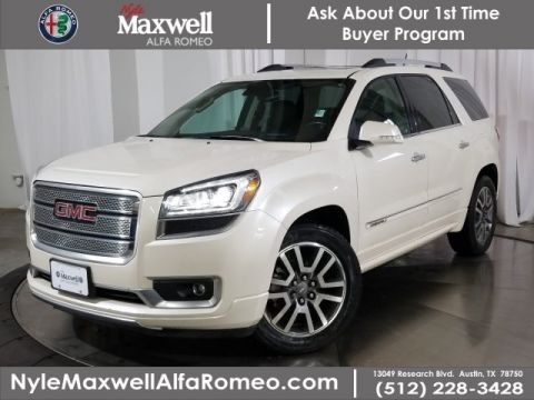 Pre-Owned 2014 GMC Acadia Denali With Navigation