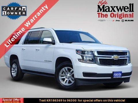DEALER CERTIFIED 2019 Chevrolet Suburban LT