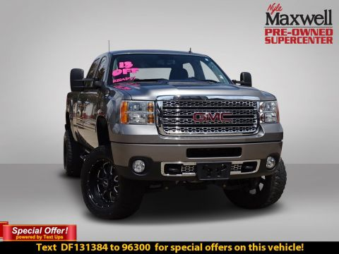 Pre-Owned 2013 GMC Sierra 2500HD Denali With Navigation & 4WD