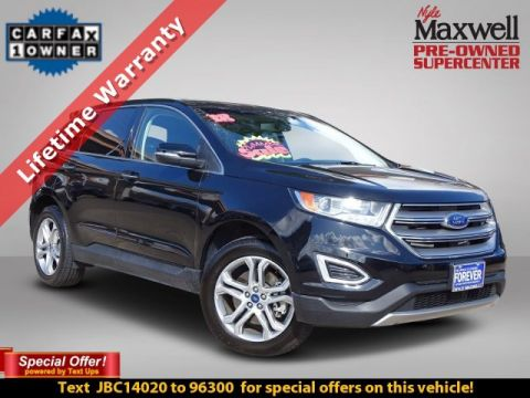 DEALER CERTIFIED 2018 Ford Edge Titanium