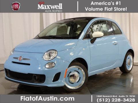 New 2019 FIAT 500c Lounge FWD Convertible