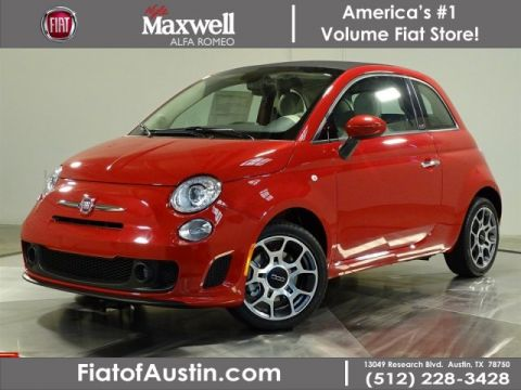 New 2018 FIAT 500c Pop With Navigation
