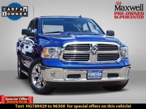 DEALER CERTIFIED 2017 Ram 1500 SLT