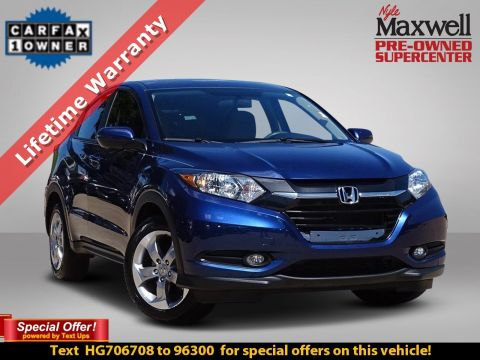DEALER CERTIFIED 2017 Honda HR-V EX