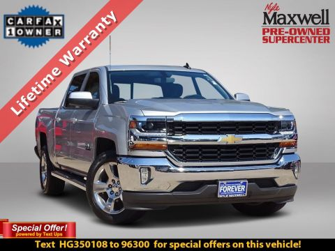 DEALER CERTIFIED 2017 Chevrolet Silverado 1500 LT