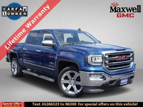 DEALER CERTIFIED 2018 GMC Sierra 1500 SLT
