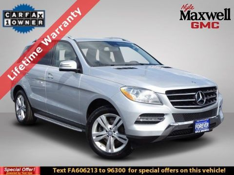 DEALER CERTIFIED 2015 Mercedes-Benz M-Class ML 350