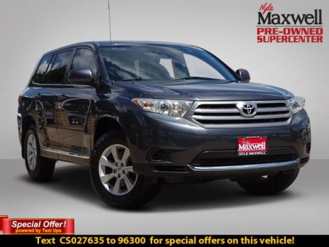 Pre-Owned 2012 Toyota Highlander SE Front Wheel Drive Sport Utility