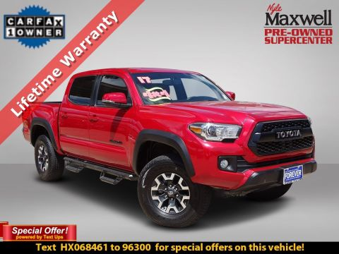 DEALER CERTIFIED 2017 Toyota Tacoma TRD Off Road
