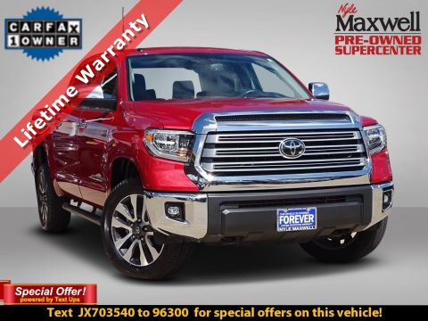 DEALER CERTIFIED 2018 Toyota Tundra 4WD Limited