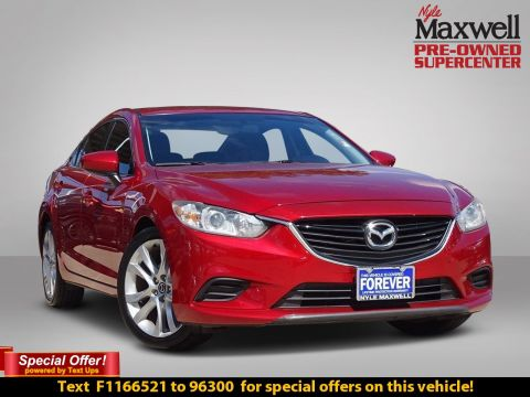 Pre-Owned 2015 Mazda6 i Touring FWD 4dr Car