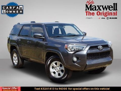 DEALER CERTIFIED 2019 Toyota 4Runner SR5