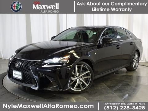 DEALER CERTIFIED 2018 Lexus GS GS 350 F Sport