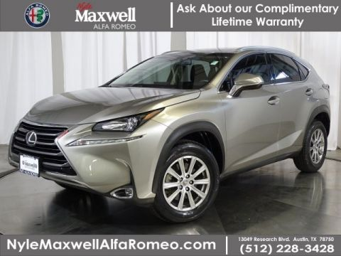 DEALER CERTIFIED 2015 Lexus NX 200t 200t