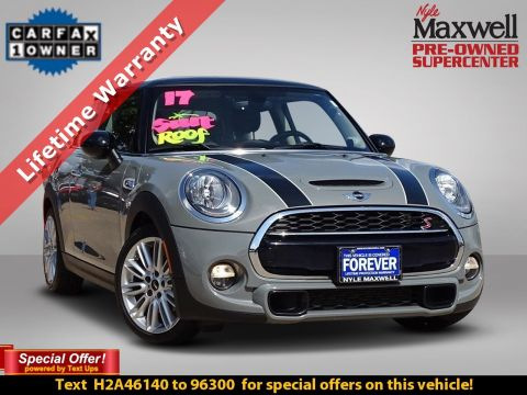 DEALER CERTIFIED 2017 MINI Hardtop 2 Door Cooper S