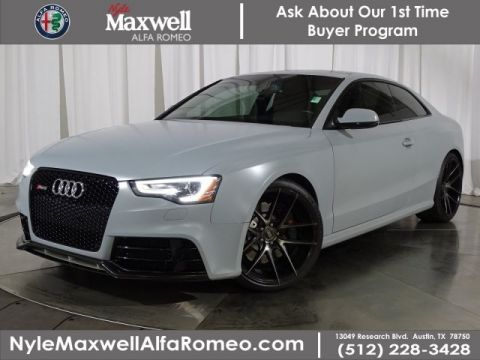 Pre-Owned 2014 Audi RS 5 4.2 AWD